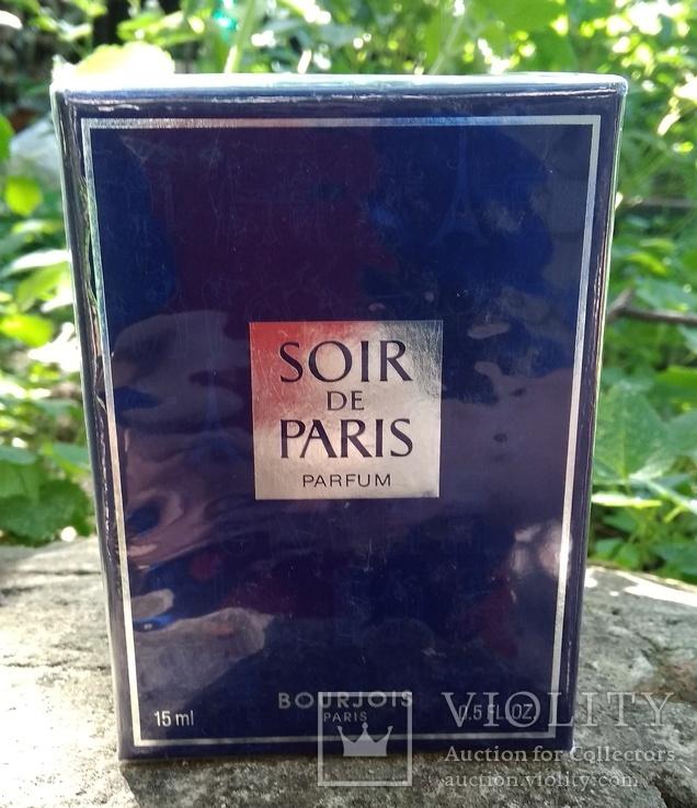 Bourjois Soir de Paris. Духи 15 ml. Винтаж