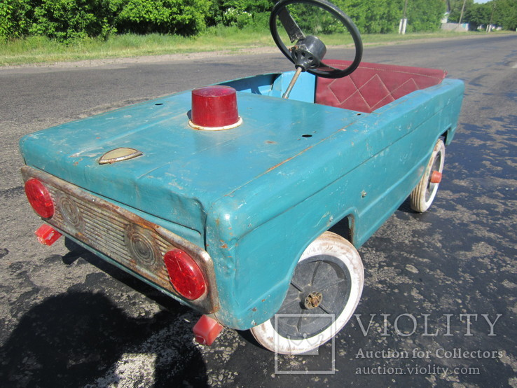 Педальная машина СССР
