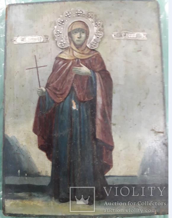 Святомученица Елена в серебряном венчику
