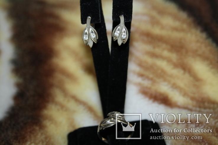 Серебряный набор, серебро 925, фото №3