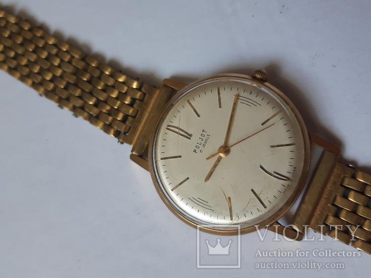 Часы Полет  au 20 с браслетом.
