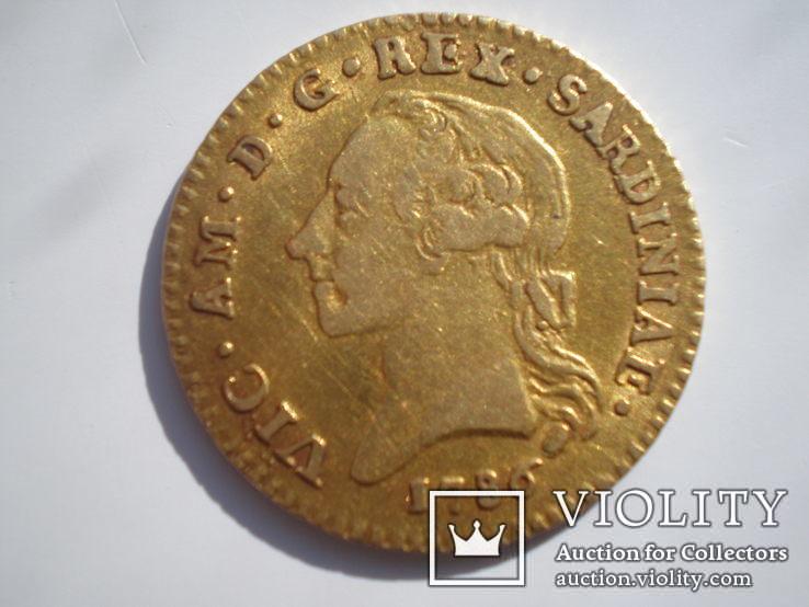 Доппия 1786 г. Сардинское королевство