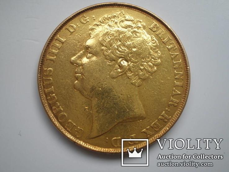 2 фунта 1823 г. Англия