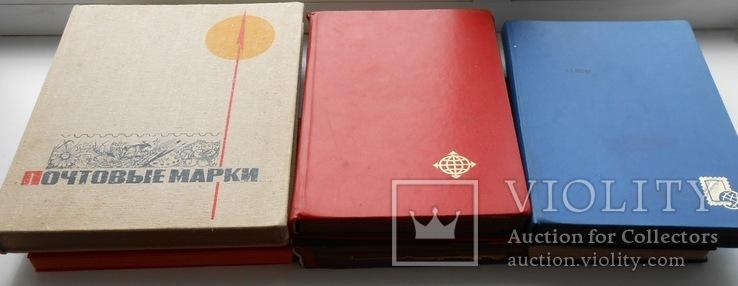 7 альбомов марок 5142 шт. СССР Украина Китай США и др