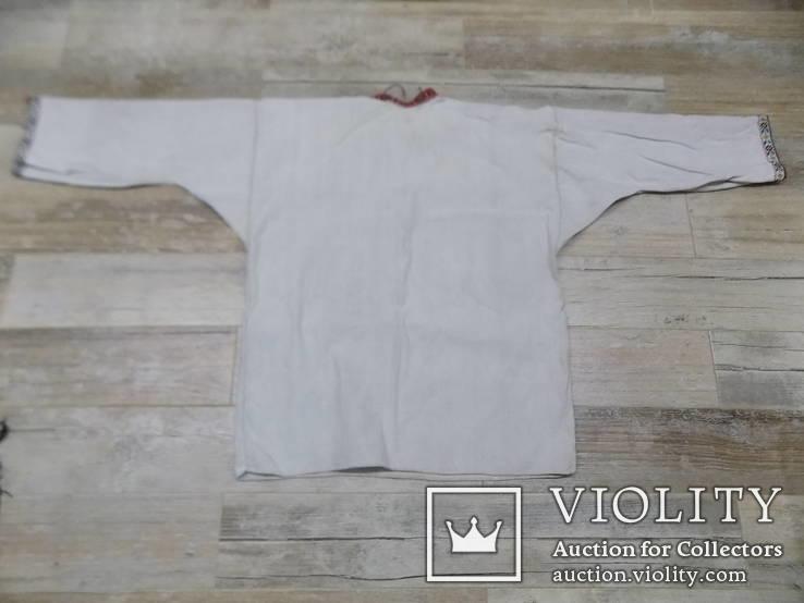Покутська чоловіча конопляна сорочка, фото №6