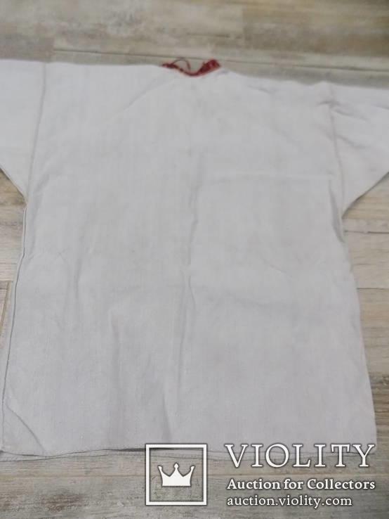 Покутська чоловіча конопляна сорочка, фото №7