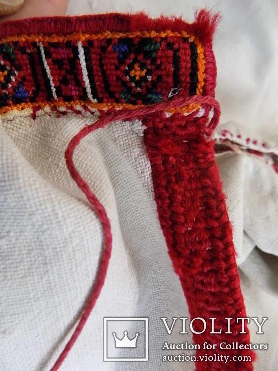Покутська чоловіча конопляна сорочка, фото №11