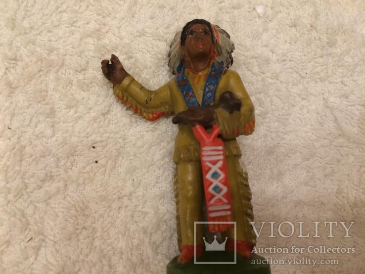Индеец 33 из серии индейцы ковбои ГДР