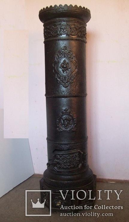 Печка дореволюционная (с казаком) - 40 кг.+ доставка безкоштовна