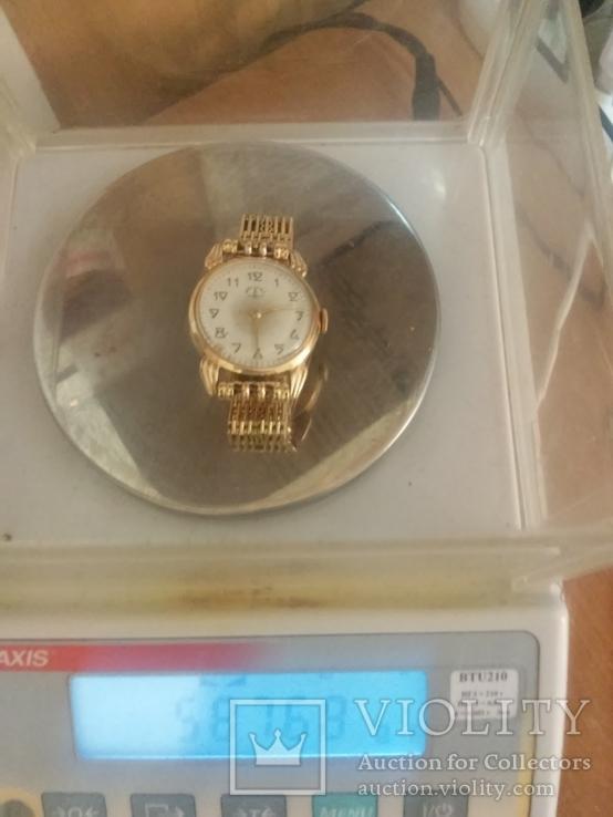 Мужские золотые часы 583пр.