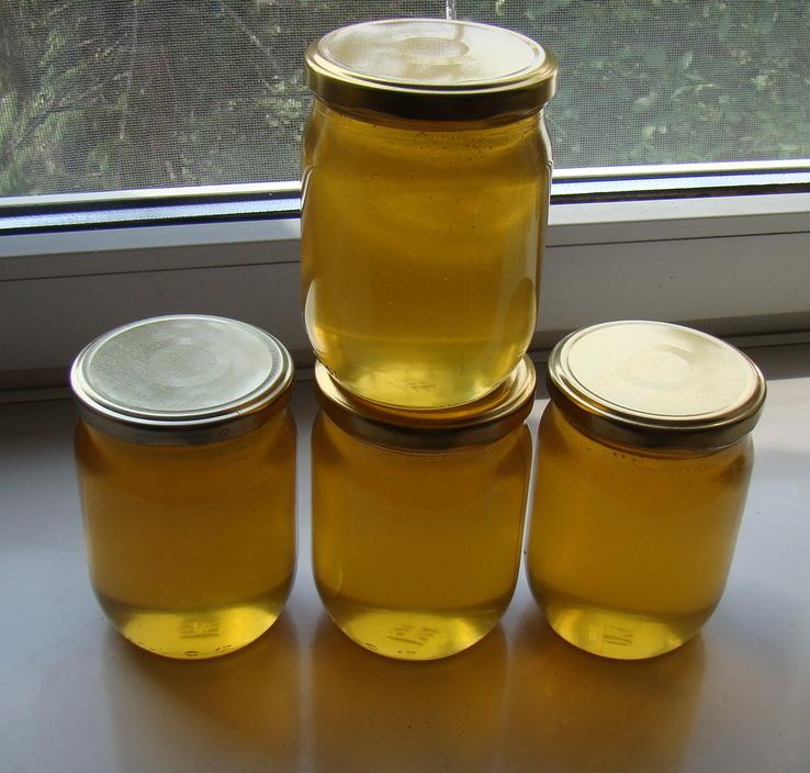 Мед з домашньої пасіки (травневий+акація 2 л.,чиста вага меду 2.8кг.)