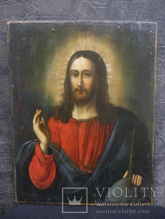 """Икона """"Господь Вседержитель"""". 32х25х2см.."""