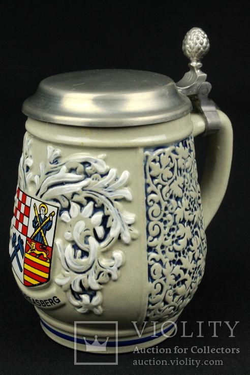 Коллекционная пивная кружка. Original King. № 406. Sankt Andreasberg. Германия. (0279)
