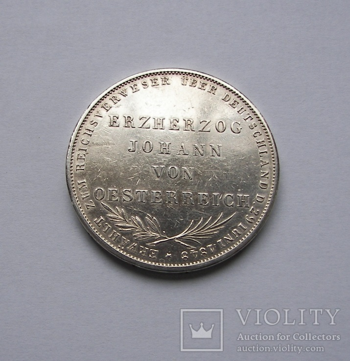 2 Гульдена 1848 Франкфурт