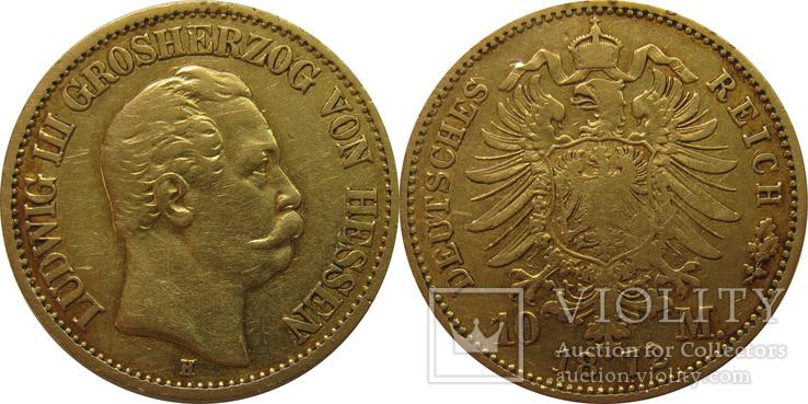 10 марок 1872р Германська імперія