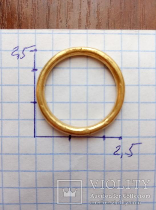 Золото кольцо по ЧК 6.50гр.