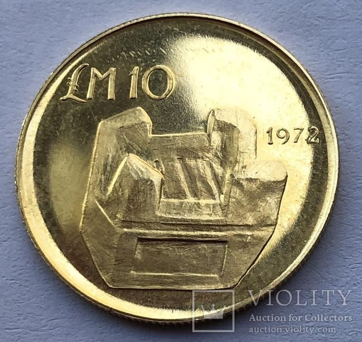 10 фунтов 1972 года Мальта