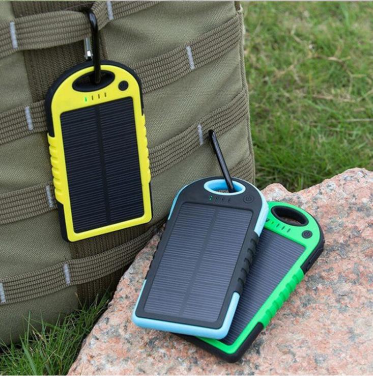 Повербанк для похода Power Bank SOLAR 20 800 с солнечной зарядкой Без резерва