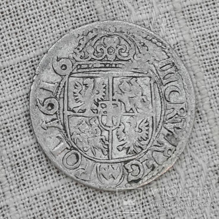 Польские 3 крейцера 1616 г. (Сигизмунд 3) R1
