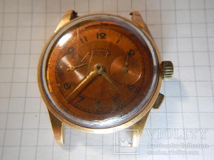 Швейцарский хронограф Chronographe Suisse 0.750 18K
