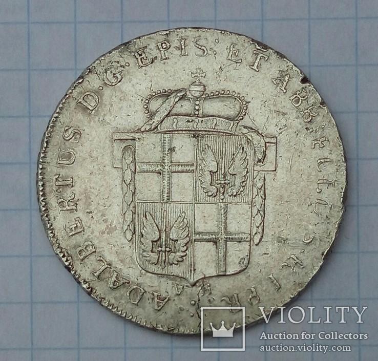 1/2 талера Фульда 1796 рік.