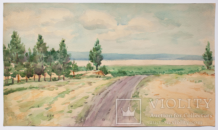 Силин А.Д. (1883–1942). Пейзаж.