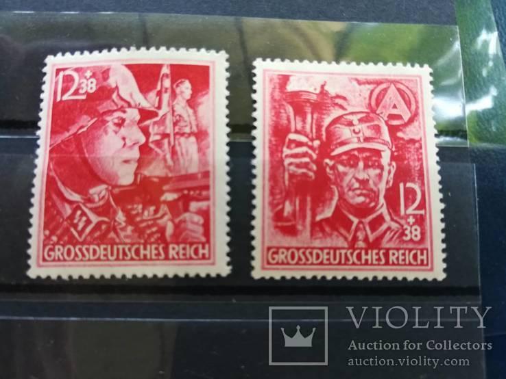 1945 Рейх последние марки полная серия MNH