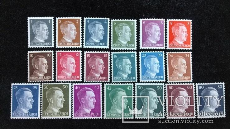 Третий Рейх марки все номиналы