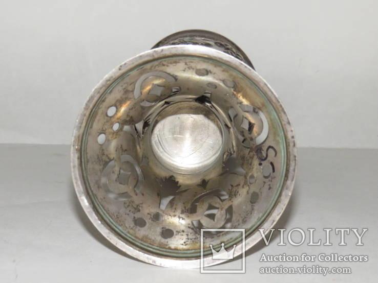 Кубок или вазочка украшенная изображением винограда, фото №6