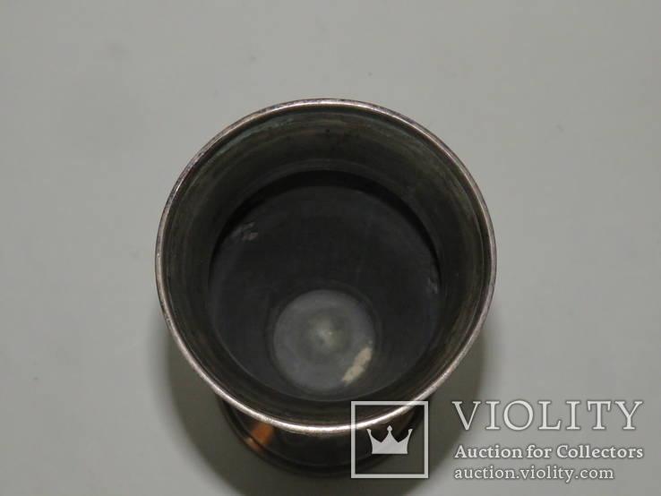 Кубок или вазочка украшенная изображением винограда, фото №7