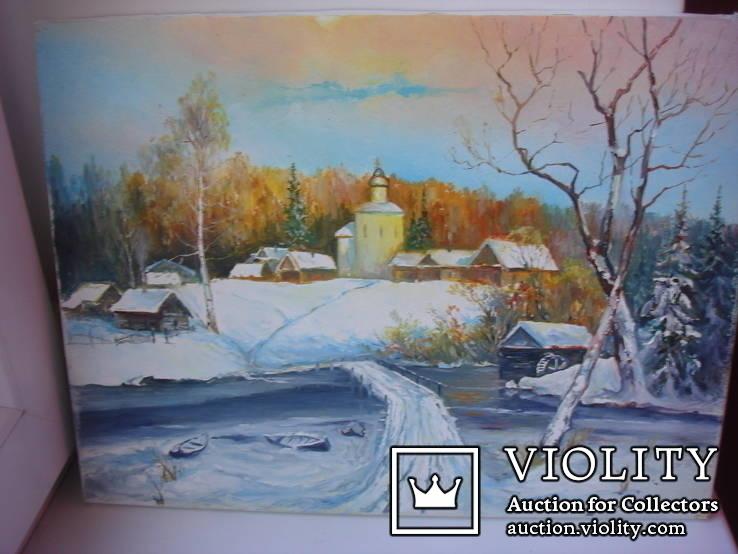 ''Зима''- Михайленко А.