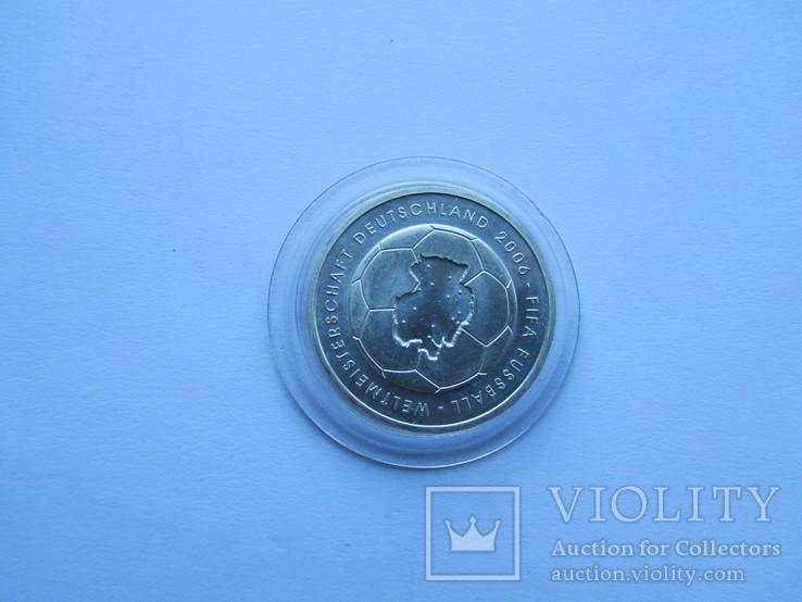 10 евро Футбол ЧМ 2006. Серебро. Германия, фото №4