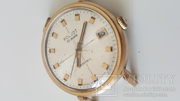 Часы Полет 2616.2Н 23 камня Au10 автоподзавод рабочие