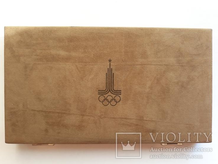 Набор платиновых монет олимпиада 80