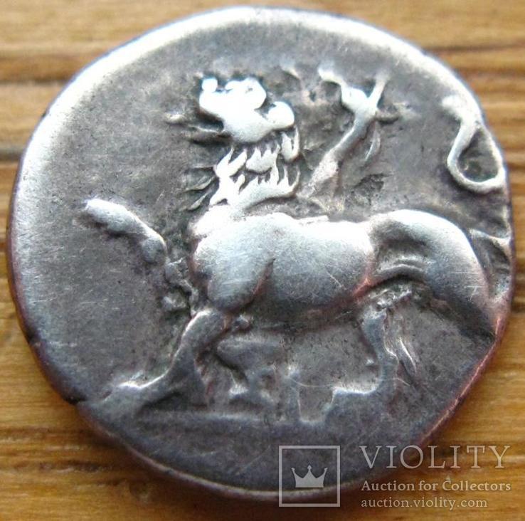 Сикион, голубь-химера,гемидрахма, 360-330 до нэ