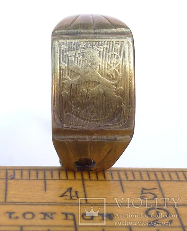 Финское патриотическое самодельное кольцо времён войны.