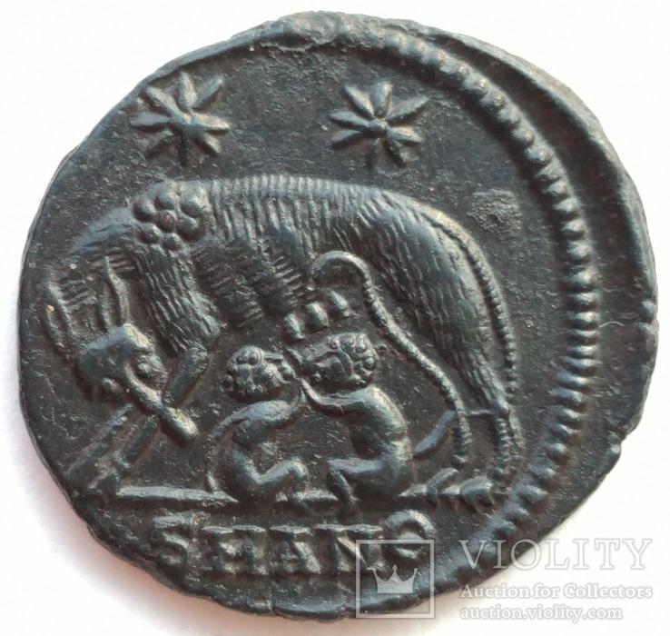 URBS ROMA мон двор Antioch 335-337 гг н.э. (82_15)