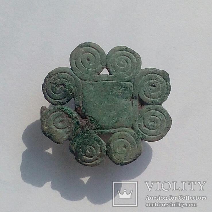 Пришивная накладка Чернолесская культура, 8-7 века до н.э.