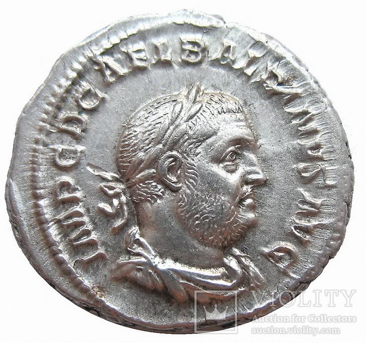 Денарий Бальбин 238 г. н.э.