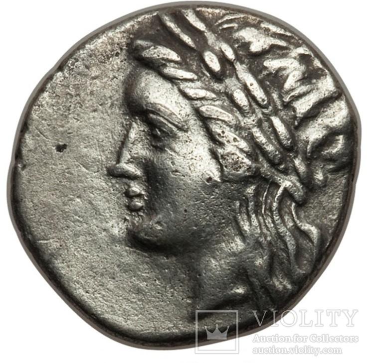 Аполлон Лев Зоря Мілет ( 250-190 р. до н.е ) срібло