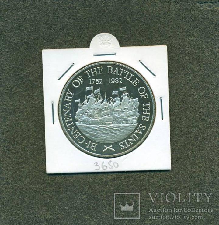 Парусники, 10$ остров Сент-Люсия 1982 года, фото №2