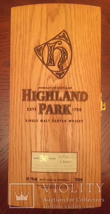 Виски Highland Park 30 лет в коробке 0.7 л