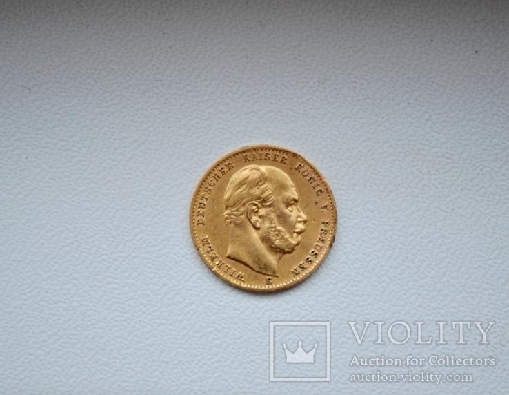 10 марок. Пруссия. Германия. 1873 год