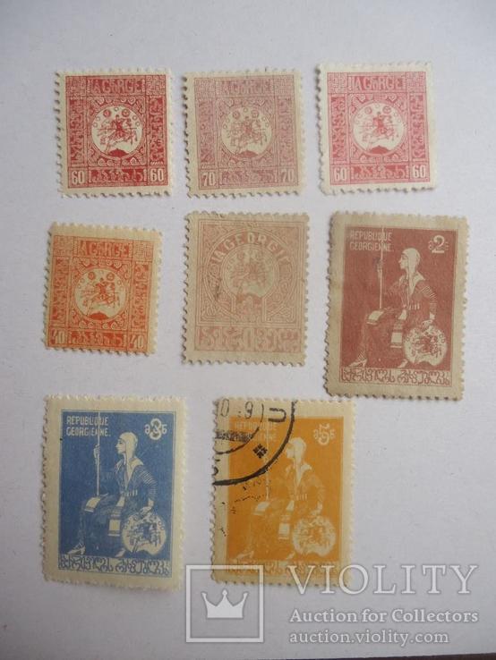 1919 г Грузия гражданская война 8 марок
