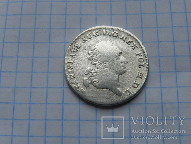 4 гроша 1766 (золотувка)