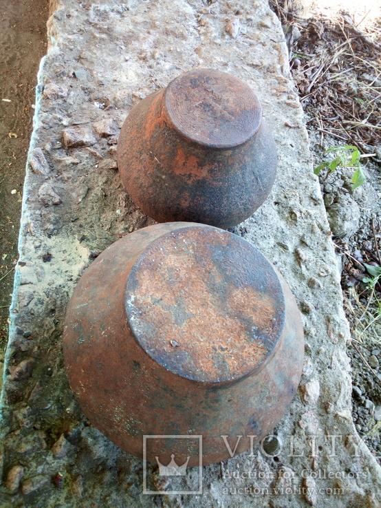 Два казанка-чугунка ( интерьерные)., фото №7