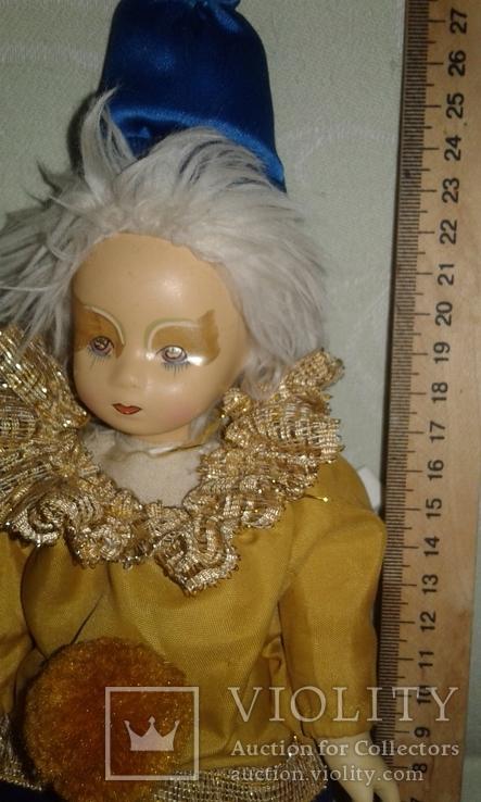 Фарфоровый кукла-клоун 60-70 г.г.  Германия., фото №5