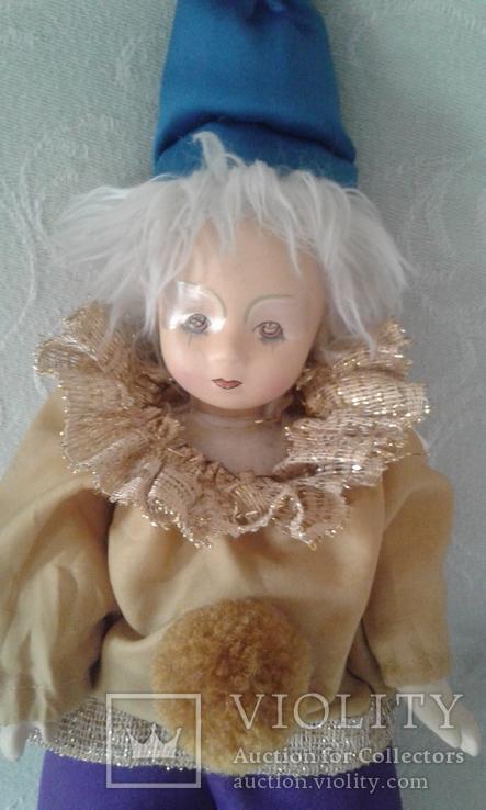 Фарфоровый кукла-клоун 60-70 г.г.  Германия., фото №6