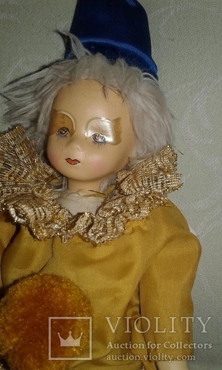 Фарфоровый кукла-клоун 60-70 г.г.  Германия., фото №7