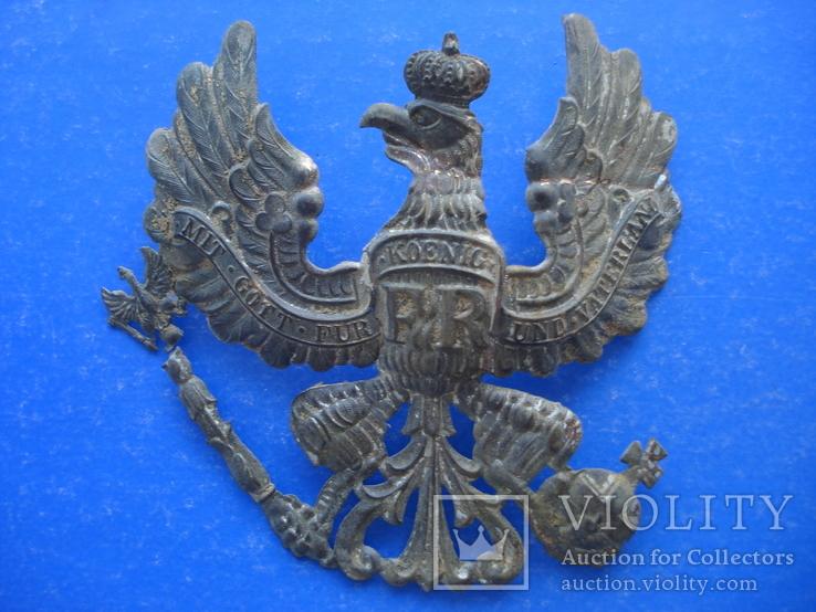 Орел з пікельгельму пруської лінійної піхоти 19-20ст.